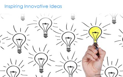 We have a great team of innovators who work on innovative ideas to find creative solutions