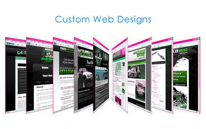 Custom Web Design applications as per the need of your business to meet the demands of your customers