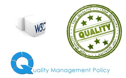 We have defined & effectively implemented Quality Management Policy to build & maintain your website with standards