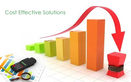 We continuously work towards providing cost effective solutions in better ways offering you more than expected